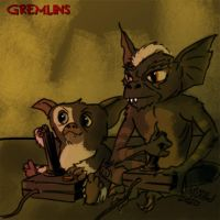 Gremlins Battle by mothbot