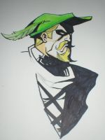 The Green Arrow by greenfey
