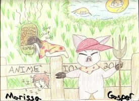 If AI 2010 were on a farm . . by Rissi-Chan