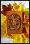 Lion passport cover  by CoreyChiev