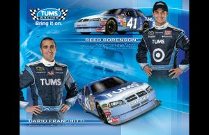 TUMS Racing Autograph Card by dancingeyes
