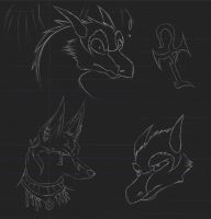 Sketchdump1 by WildTheory