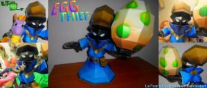 Spyro: A Hero's Tail -Egg Thief- LTE-T Papercraft by LeTourbillonEnchanT