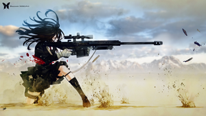 butterfly M82A1 Wallpaper Adap by Cody-7