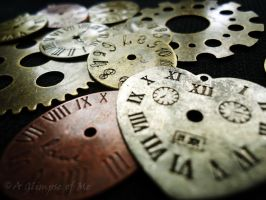 Clocks and Gears by AGlimpseOfMe