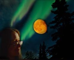 vision of the northern lights by eileenmeierrocks
