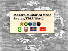 Militaries of the Avatar/FMA World: United Forces by AltheOtaku616