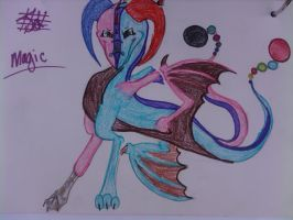 Hecate Dragoness by SilverShadowJynx