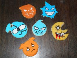 Soul Eater Cookies by fairy-of-illusions
