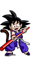 Kid Goku by SaoDVD