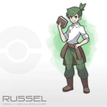 Pokemon Russel | Commission by kiazan
