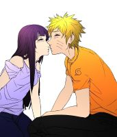 NaruHina - Simple Color by TheSunriseMassacre
