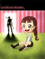 Lara Croft is not a Kid Anymore by G-gG