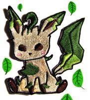 Leafeon Patch by Hoozuki