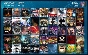 Windows 8 Metro Aicon Pack 11 by HarryBana