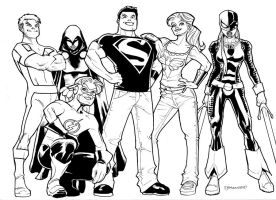 Teen Titans 2010 by guinnessyde