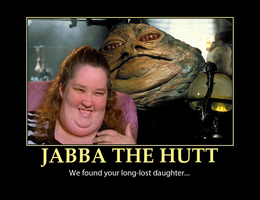 Jabba The Hutt's Long-Lost Daughter by MrAngryDog