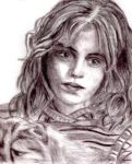 hermione by blastedgoose