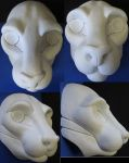 Large Feline Resin Blank by DreamVisionCreations