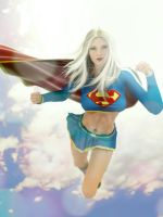 Supergirl by ozzboyd