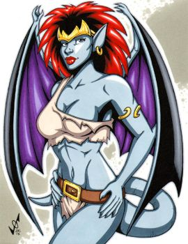 Demona commission by gb2k