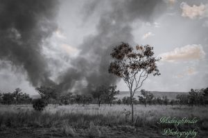 Australian Bush Fire... by midnightrider79