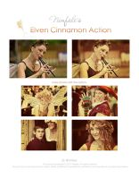Elven Cinnamon action by Nimfale