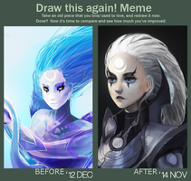 Draw this Again! ft. Diana by jayuu
