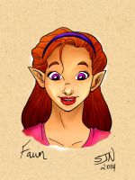 Bardsworth Fan Art--Fawn by 3Fangs