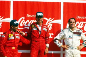 1988 Italian Grand Prix Podium by F1-history