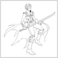 Kingdom Hearts-Vergil LINES by arvalis