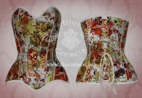 Fairy corset by Alice-Corsets