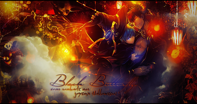 [Banniere] BB Halloween by XxAjisai-GraphicxX