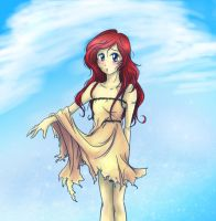 Ariel's new dress by seyo-tsukino