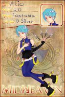 [MH] Akio new charsheet by VIPluvB2ST