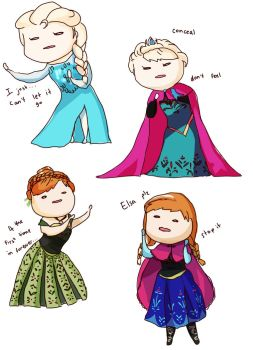 Amazing Frozen Fan art by My-Magic-Dream