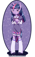 Twilight Sparkle Anthro by MewMartina