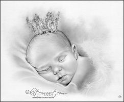 Baby Princess by Katerina-Art