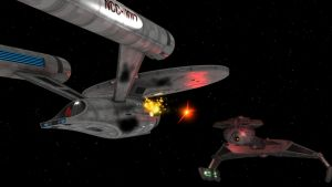 Klingon Attack by enterprisedavid