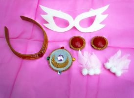 My Handmade Sailor Moon Manga Version  Accessories by SailorSamara
