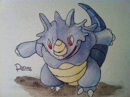 Rhydon by Randomous