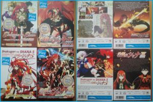 Shakugan No Shana All Seasons All DVD front/back by AngelsWillFallFirst