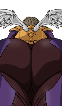 League of Butts: Kayle by ScarmiglioneH