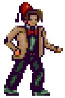 11th Doctor in 16 bit by Nesasta