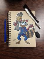Rocket Raccoon by ShadowMaginis