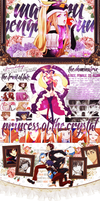 Mawaru Penguindrum MAL Layout by effervescent-s