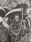 Death with Ravens by SirSamael