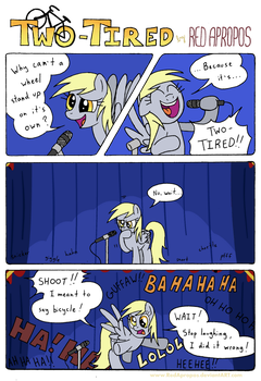 Two-Tired + VoiceOver! by RedApropos