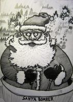 Santa Bomber by Wideen