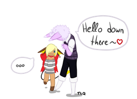 Hello Down There by TheLonelyQueen